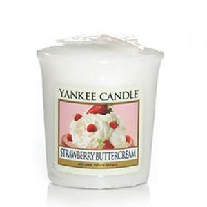 Lumanare Parfumata Votive Strawberry Buttercream, Yankee Candle