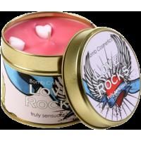 Tin Candle Love Rocks
