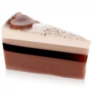 Sapun Vegan Felie de Tort Chocolate Heaven 140g, Bomb Cosmetics