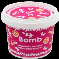 Exfoliant Vegan pentru corp Grapefruit & Nectarine, Bomb Cosmetics