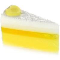 Sapun Vegan Felie de Tort Lemon Meringue 140g, Bomb Cosmetics
