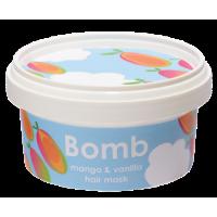 Masca pentru par Mango & Vanilla, Bomb Cosmetics