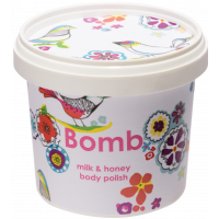 Exfoliant Vegan pentru corp Milk & Honey, Bomb Cosmetics