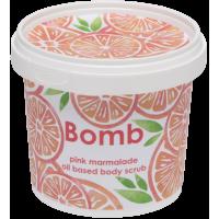 Exfoliant Vegan pentru corp Pink Marmalade, Bomb Cosmetics