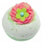 Sare de baie efervescenta Apple & Raspberry Swirl, Bomb Cosmetics 160g