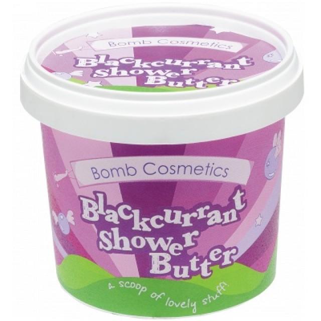 Unt de corp pentru dus Blackcurrant, Bomb Cosmetics, 365g
