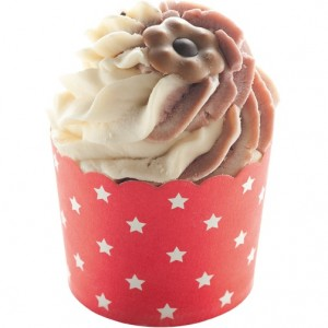 Sare de baie hidratanta Cocoa Swirl Flake Shake, Bomb Cosmetics 110g