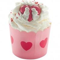 Sare de baie hidratanta Cocoa Swirl Jar of Hearts, Bomb Cosmetics 110g