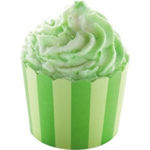 Sare de baie hidratanta Cocoa Swirl Lime & Kiwi, Bomb Cosmetics 110g