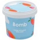 Exfoliant Vegan pentru corp Mango Unchained Bomb Cosmetics, 365ml
