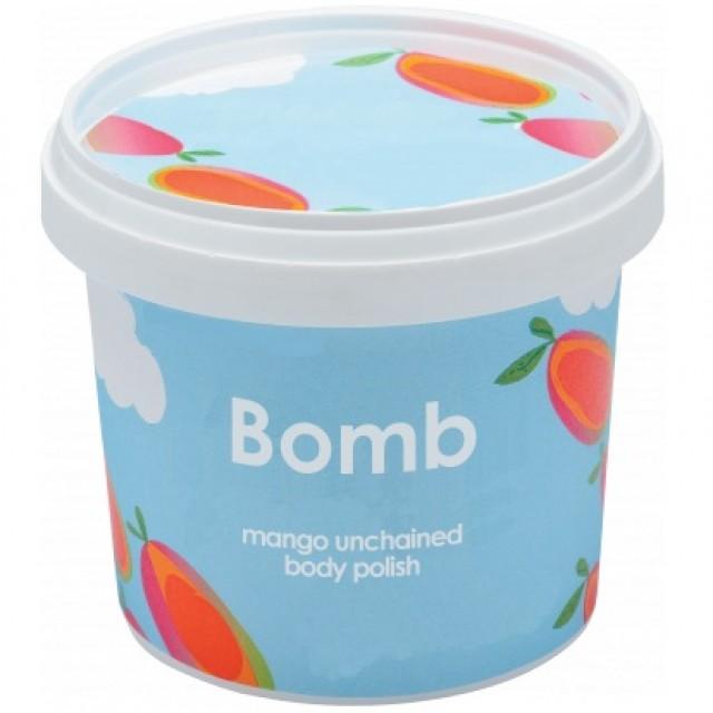 Exfoliant Vegan pentru corp Mango Unchained, Bomb Cosmetics, 365ml