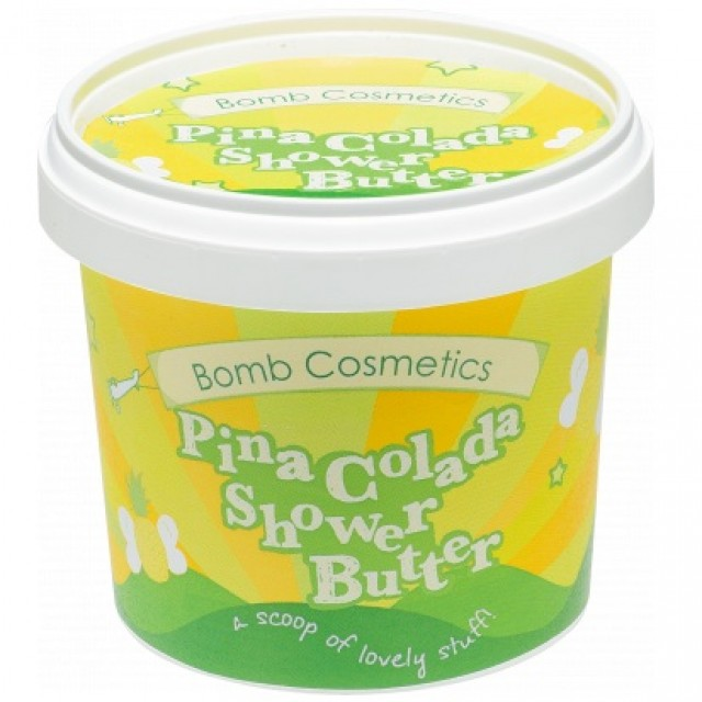 Unt de corp pentru dus Pina Colada, Bomb Cosmetics, 365g