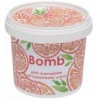 Exfoliant Vegan pentru corp Pink Marmalade Bomb Cosmetics, 365ml