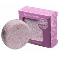 Sampon solid vegan Purple Passion 50g, Bomb Cosmetics