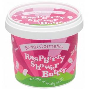 Unt pentru dus Raspberry Blower Bomb Cosmetics, 320g