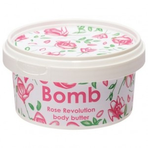 Unt pentru corp Rose Revolution Bomb Cosmetics, 210ml