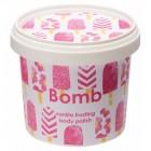 Exfoliant Vegan pentru corp Vanilla Frosting Bomb Cosmetics, 365ml