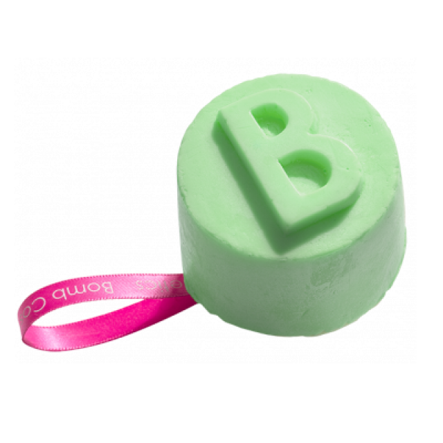 Gel de dus solid Lime & Shine Vegan, Bomb Cosmetics, 130g