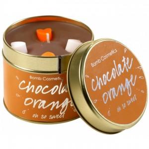 Lumanare parfumata Chocolate Orange, Bomb Cosmetics