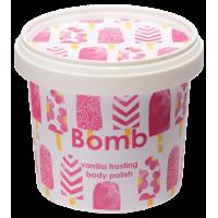 Exfoliant Vegan pentru corp Vanilla Frosting, Bomb Cosmetics