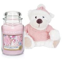 "Lumanare Parfumata Borcan Mare Snowflake Cookie & Ursulet ""Yankee"", Yankee Candle"