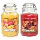 Set 2 Lumanari Parfumate Borcan Mare: Mandarin Cranberry & Mango Peach Salsa, Yankee Candle