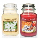 Set 2 Lumanari Parfumate Borcan Mare: Tobacco Flower & Tarte Tatin, Yankee Candle