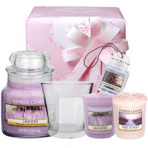 Set Cadou Lovely Lavender, Yankee Candle