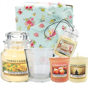 Set Cadou Flowers in the Sun, Yankee Candle