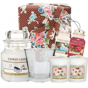 Set Cadou Strawberry & Vanilla, Yankee Candle