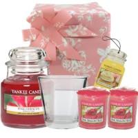 Set Cadou Pink Hibiscus, Yankee Candle