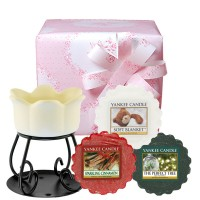 "Set aromoterapie ""Sparkling Cinnamon"", Yankee Candle"