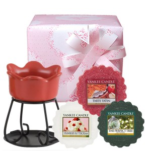 """Set Cadou """"Sweet Strawberry"""", Yankee Candle"""