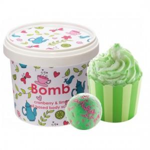 "Set cadou ""Lime & Refresh"", Bomb Cosmetics"