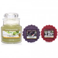 Set Lumanare Parfumata Borcan Mic Cuban Mojito +2 Tarte Parfumate, Yankee Candle