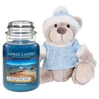 "Lumanare Parfumata Borcan Mare Turquoise Sky & Ursulet ""Yankee"", Yankee Candle"