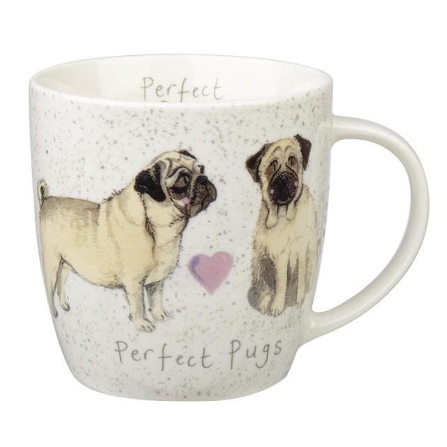 "Cana Alex Clark Delightful Dogs ""Perfect Pugs"" 400ml, Churchill"