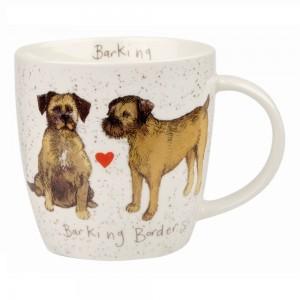 "Cana Alex Clark Delightful Dogs ""Barking Borders"" 400ml, Churchill"