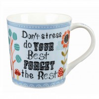 "Cana ""Don't stress, do YOUR Best FORGET the Rest"" 360ml, Churchill"