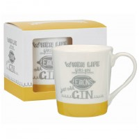 "Cana Chasing Rainbows ""When life gives you LEMONS just add GIN"" 300ml, Churchill"