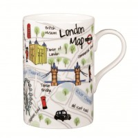 "Cana James Sadler ""London Maps"" 350ml, Churchill"