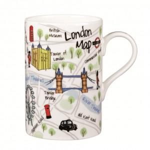 "Cana James Sadler ""London Maps"" 350ml, Churchill"