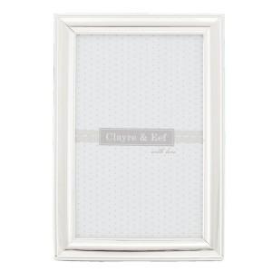 """Rama foto """"Silver"""" 9*13 cm, Clayre & Eef"""