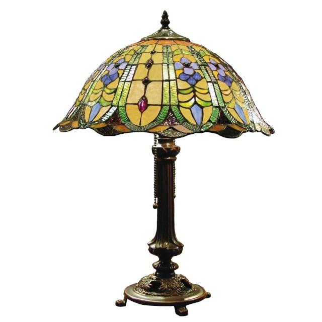 Lampa Tiffany, 40x53 cm, 2 x E27 / Max 60W, Clayre & Eef