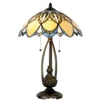 Lampa Tiffany, 40x60 cm, 2 x E27 / Max 60W, Clayre & Eef