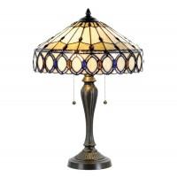 Lampa Tiffany, 40x58 cm, 2 x E27 / Max 60W, Clayre & Eef