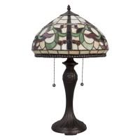 Lampa Tiffany, 36x59 cm, 2 x E27 / Max 60W, Clayre & Eef