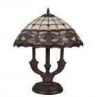 Lampa Tiffany, 24x52 cm, 2x E14 / Max 40W, Clayre & Eef