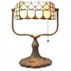 Lampa Arthur Tiffany 26x21x37 cm, 1x E27 / Max 60W, Clayre & Eef