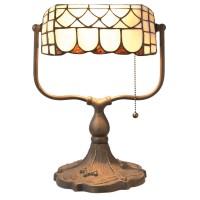 Lampa Tiffany 26x21x37 cm, 1x E27 / Max 60W, Clayre & Eef